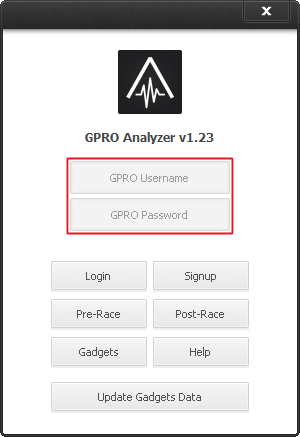 GPRO Analyzer